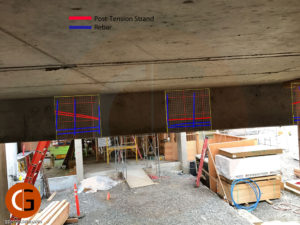 3D Mapping Post-Tension in Beam