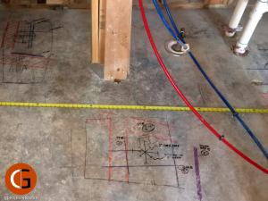 Locating PT, rebar, and PEX